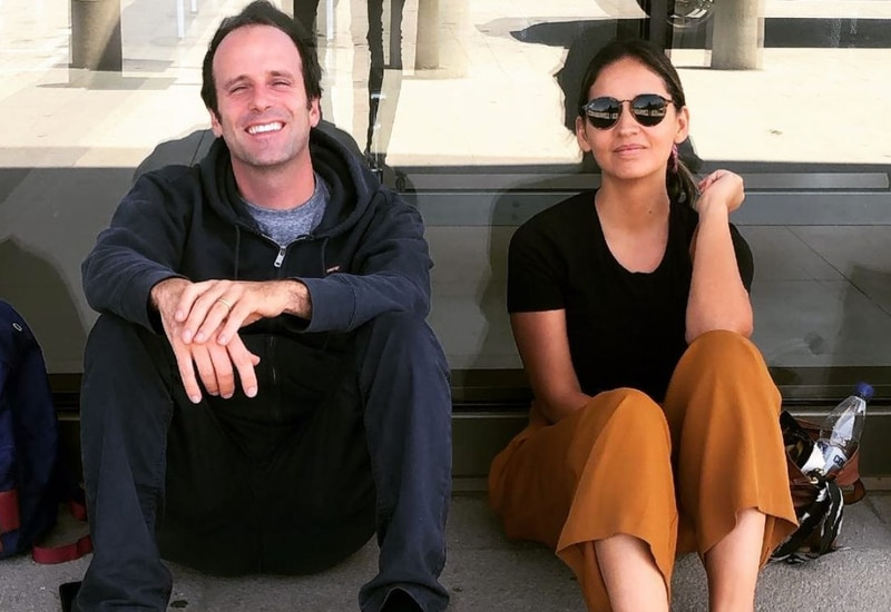 Stefan Kramer y Paloma Soto
