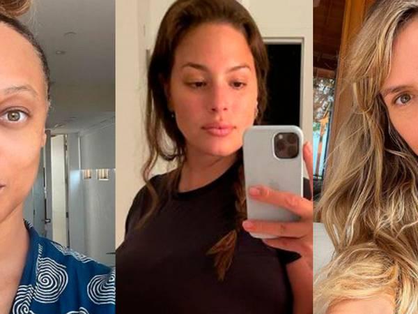 Ashley Graham y modelos que se han mostrado sin maquillaje y han dado lección