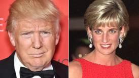 Las ofensas de Donald Trump también salpicaron a la princesa Diana