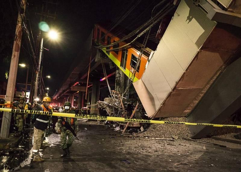 accidente metro méxico línea 12