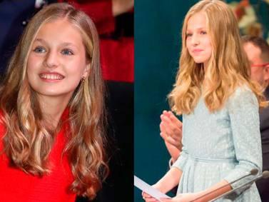 La princesa Leonor muestra que está creciendo con look maduro y tacones