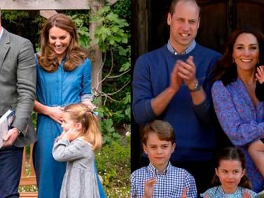 Kate Middleton de viaje con sus hijos muestra el caos de la maternidad
